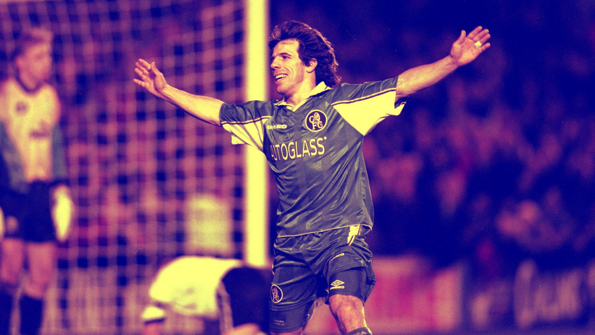 Gianfranco Zola Pemain Terbaik Chelsea Sepanjang Masa 2