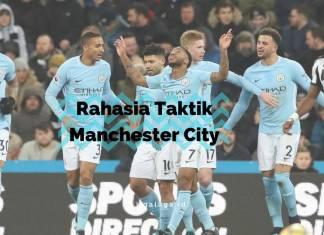 Rahasia Taktik Manchester City