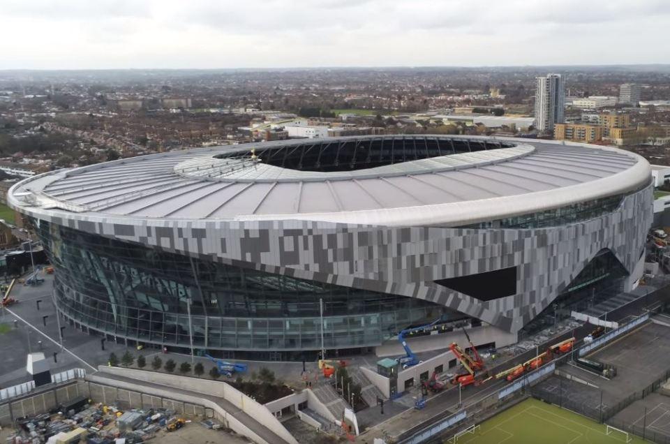 Tottenham Hotspur Stadium dan Mitos Penurunan Poin di ...