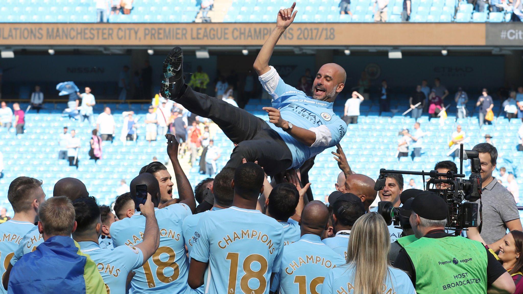 Pep Manchester City Sulit Memenangkan Apa Pun Hanya Dengan